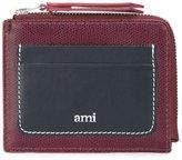 Ami Alexandre Mattiussi colour block wallet - men - Leather - One Size