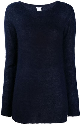 P.A.R.O.S.H. Knitted Boat Neck Jumper