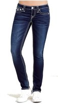 True Religion Women's Jeans Skinny Flap Big T