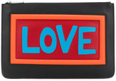 Fendi Love clutch