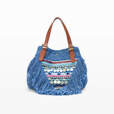 Elliot Mann Beach Beaded Bag