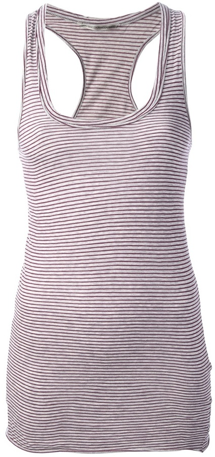Humanoid striped tank top