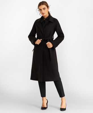 Brooks Brothers Cashmere Wrap Coat