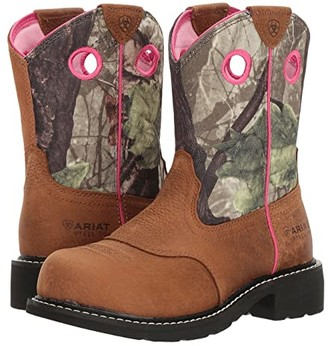 Ariat Fatbaby Heritage Steel Toe (Toasted Auburn/Camo) Cowboy Boots