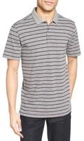 Nordstrom Men's Heathered Stripe Jersey Polo