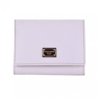 Dolce & Gabbana White Leather Small bags, wallets & cases
