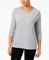 Karen Scott Active Sweatshirt, Only at Macy's