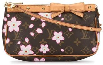 Louis Vuitton x Takashi Murakami 2003 Cherry Blossom Monogram Accessory pouch