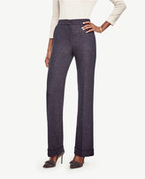 Ann Taylor The Flare Pant in Tweed