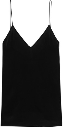 IRO Afford Lace-trimmed Crepe De Chine Camisole