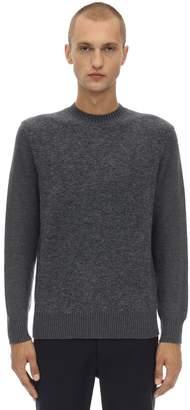 Ermenegildo Zegna Crewneck Stretch Mohair & Wool Sweater