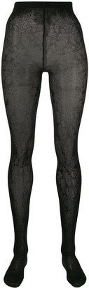 Wolford Elisabeth floral tights