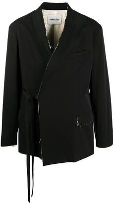 Ambush Raw Edge Kimono Jacket