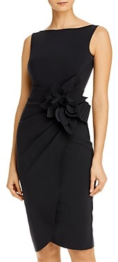 Chiara Boni Glenaly Flower-Applique Dress - 100% Exclusive