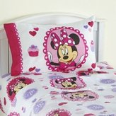 "Disney Minnie Mouse Bowtique Sweet Treats 39"" x 75"" Twin Sheet Set"