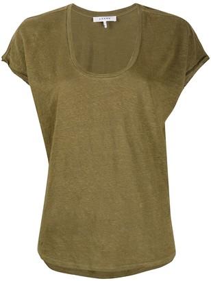 Frame easy scoop T-shirt