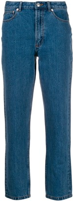 A.P.C. Paper 80's high cropped jeans