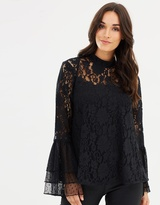 Cooper St Rosie Lace Tiered Top
