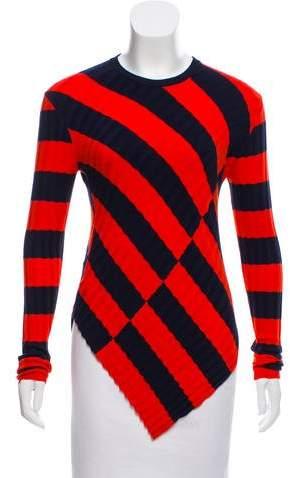 Altuzarra Striped Asymmetrical Sweater w/ Tags