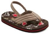 Cherokee Toddler Boys' David Flip Flop Sandals - Assorted Colors