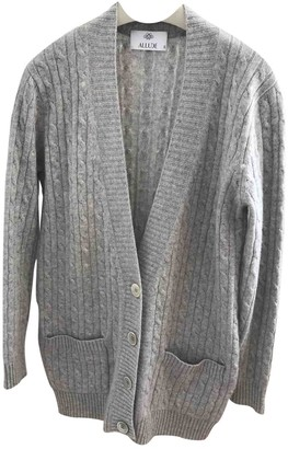 Allude Grey Cashmere Knitwear for Women