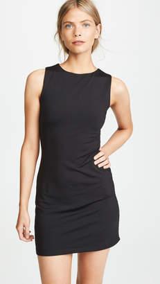 Susana Monaco Slit Open Back Dress