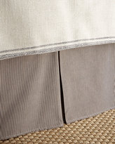 French Laundry Home Queen Kent Wood Stripe Dust Skirt