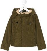 Burberry hooded windbreaker jacket - kids - Cotton/polyester - 4 yrs