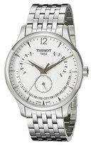 Tissot Men's T0636371103700 Tradition Analog Display Swiss Quartz Silver Watch