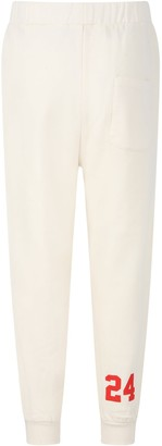Douuod Ivory Sweatpant For Boy With Number