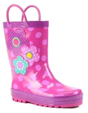 Western Chief Toddler, Little Girl's and Big Girl's Printed Rubber Rain Boots