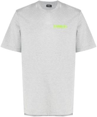 Diesel printed crew neck T-shirt