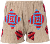 All Things Mochi - The Bessa shorts - women - Wool - One Size