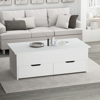 Latitude Run Deonda Lift Top Sled Coffee Table with Storage