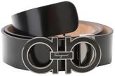Salvatore Ferragamo Adjustable Shiny Lux Men's Belts