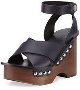 Rag & Bone Hester Leather Wedge Sandal