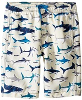 Hatley Toothy Sharks Swim Trunks Boy's Swimwear