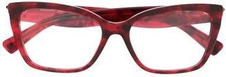 Valentino Square Frame Glasses