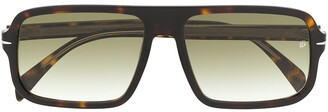 David Beckham Eyewear tortoiseshell tinted sunglasses