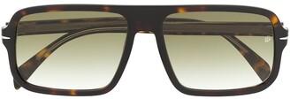 David Beckham Tortoiseshell Tinted Sunglasses