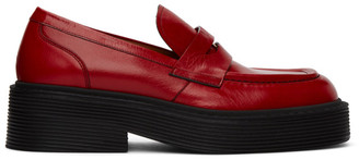 Marni Red New Forest Loafer