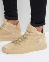 Religion League Hi Top Suede Sneakers