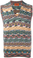 Missoni zigzag tank - men - Cotton - M