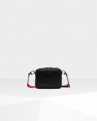 Hunter Original Rubberized Leather Two Strap Mini Crossbody Bag