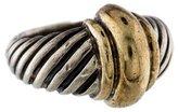 David Yurman Two-Tone Cable Ring