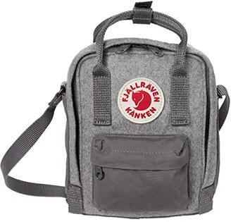 Fjallraven Kanken Re-Wool Sling (Granite Grey) Bags