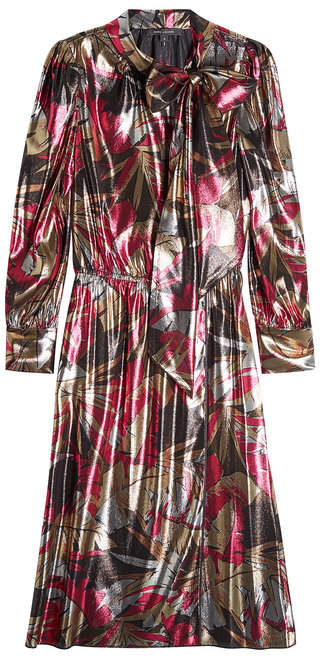 Marc Jacobs Printed Dress with Silk