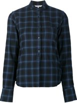 Helmut Lang checked shirt - women - Cashmere/Wool - S