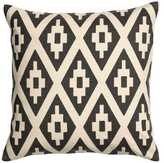 H&M Printed Cushion Cover - Natural white/charcoal gray