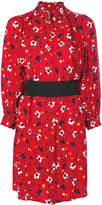 Marc Jacobs floral print shirt dress